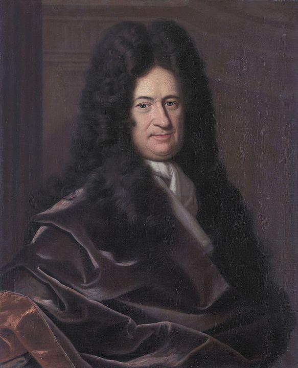 Painting of Gottfried Wilhelm Leibniz