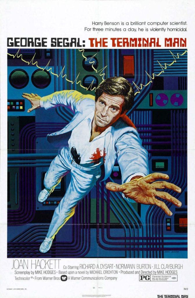 The Terminal Man movie poster